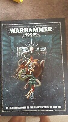 Games Workshop Warhammer 40 000 Rulebook (8th Edition) • 1£
