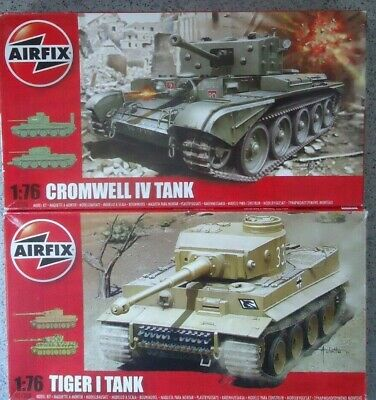 AIRFIX KIT 1:76 CROMWELL MKIV & TIGER MKI Tank's Model Kit's New And Unmade • 16£