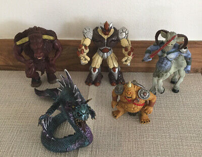 5 Mythical Creatures. Assorted Figures. • 10.50£