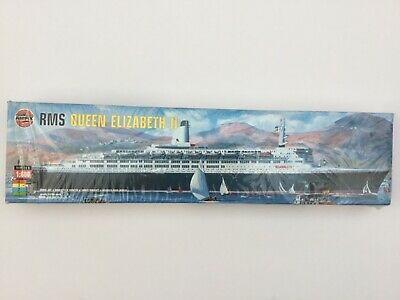 Airfix Queen Elizabeth II 1:600 Scale Model Ship Kit 06203 QE2 • 70£