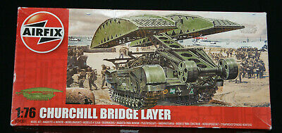 Airfix Churchill Bridge Layer 1:76 Scale Model Tank Kit A04301. • 17.50£