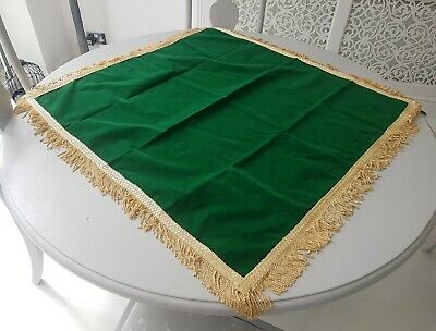 Luxury Bridge / Card Game Table Cloth 36 Inches Square With Beautiful Edging.  • 5£