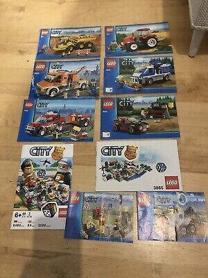 Lego Instructions Manuals Bundle • 3.10£