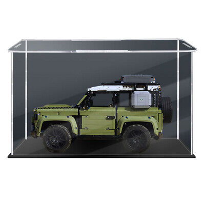 Display Case Building Block Box For LEGO 42110 Land Rover Defender-48x25x28cm • 42.99£