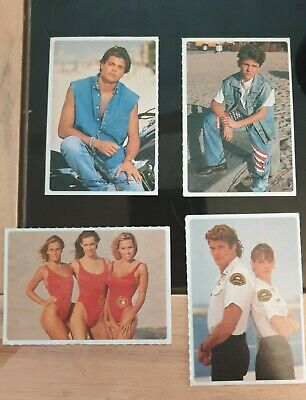 1996 BAYWATCH Collectors Stickers X 4  • 0.99£