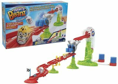 Mighty Beanz Slammer Time Race Track - 2 Exclusive Beanz Inside • 13.99£