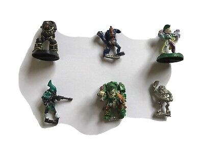 Job Lot Six Metal Warhammer Figures • 6.40£