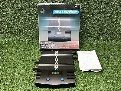 Scalextric Electronic Lap Counter And Timer Boxed C8045 Hornby *NO BATTERY COVER • 11.99£