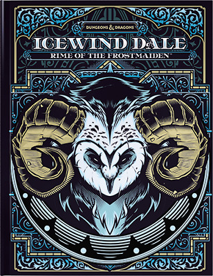 Icewind Dale: Rime Of The Frostmaiden (Limited Edition Cover) (D&D 5th Edition) • 41.99£