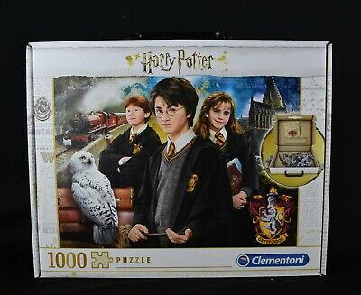 Clementoni Harry Potter 1000 Piece Jigsaw Puzzle In Carry Case • 7£