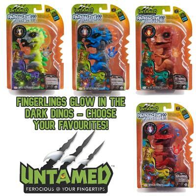 Fingerlings 3975 Untamed Radioactive Dinos - Choose Your Favourites! • 11.99£