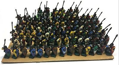 Black Hat - Early Crusaders Spearmen - 15mm - Painted • 135.93£