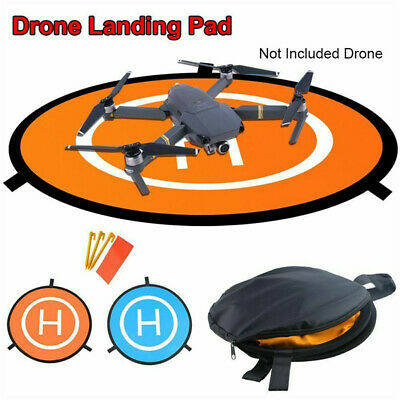 55/75/110cm Quadcopter Landing Pad RC Drone Landing Mat Helipad Unmanned Aerial • 8.39£