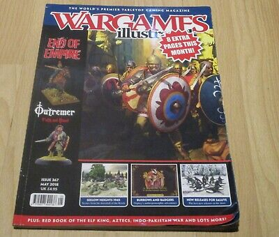 Magazine - Wargames Illustrated # 367 (May 2018) • 0.99£