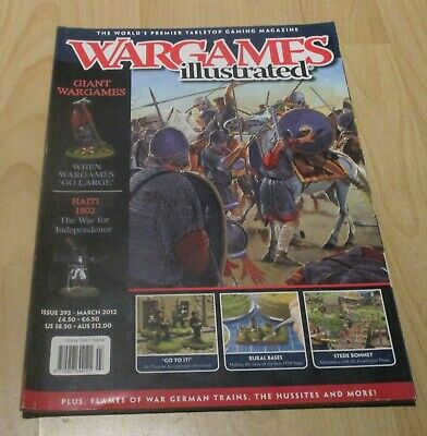 Magazine - Wargames Illustrated # 293 (March 2012) • 0.99£