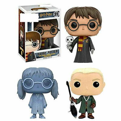 Funko Pop!Harry Potter Draco Malfoy Moaning Myrtle Exclusive Action Figure Toys • 12.56£