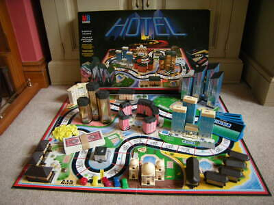 HOTEL Board Game - Spare Game Pieces & Parts, MB Games 1986  • 2£