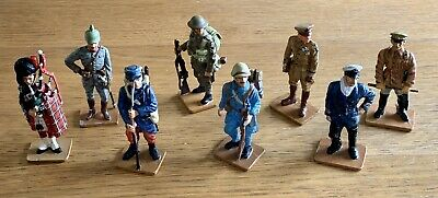 8 DEL PRADO MEN AT WAR WW1 Toy Soldier Figures 1914 - 1919 • 6.10£
