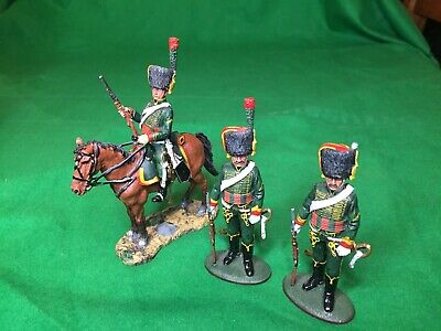 Del Prado Napoleon At War Officer, Chasseurs A Cheval Imperial Guard, 1809 • 12.99£