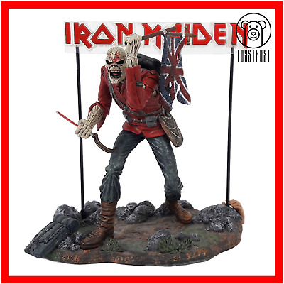 Iron Maiden Eddie The Trooper Action Figure 6in Spawn By McFarlane Toys 2002 • 49.99£