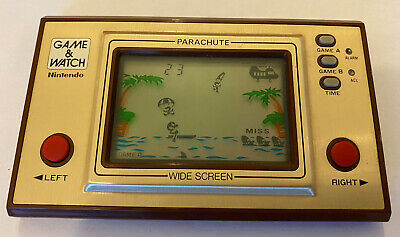 Vintage Nintendo Game And Watch Parachute 1981  PR-21  Retro Handheld • 35£