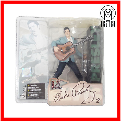 Elvis Presley Action Figure Music Memorabilia 50th Anniversary By McFarlane Toys • 49.99£