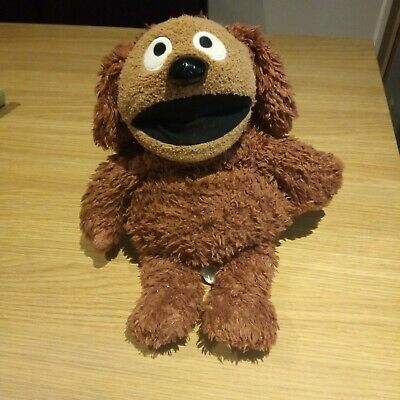 The Muppets Show Large 16  Rowlf Plush Soft Toy Disney Store Stamped • 34.99£
