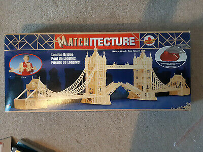 Matchitecture LONDON / TOWER BRIDGE Matchstick Kit • 14.50£