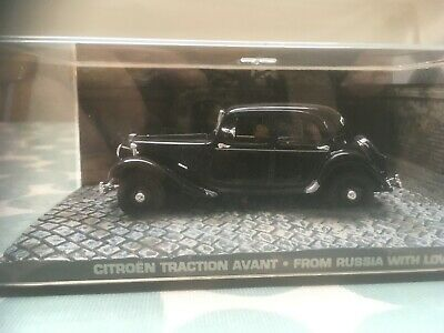 Citroen Traction Avant James Bond 007 Die Cast Car From Russia With Love • 23.70£