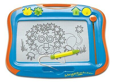 TOMY Megasketcher Childrens Kids Fun No Mess Drawing Board + Eraser Toy For 3+ • 18.25£