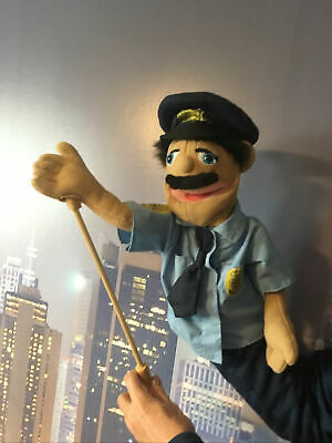Melissa And Doug Policeman Puppet, Condition Is Used From Non-Smoking Home #1 • 10.50£