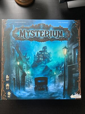 Mysterium  Board Game + Hidden Signs Expansion With Promo Cards • 25£