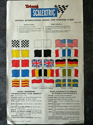 Scalextric A235 Flag Sheet • 4£