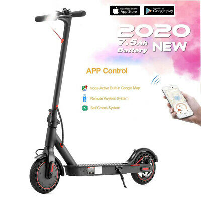 New Adult Kids Pro Electric Scooter Battery 36v Motor 350w E-scooter With App • 264.99£
