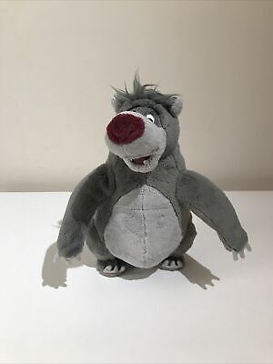 Disney Jungle Book Talking/scratching Baloo The Bear Plush  Perfect Condition • 12.49£