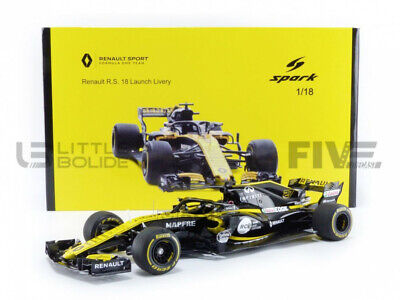 Spark 1/18 - Renault F1 Rs 18 Launch Version 2018 - 7711940355 • 66.92£