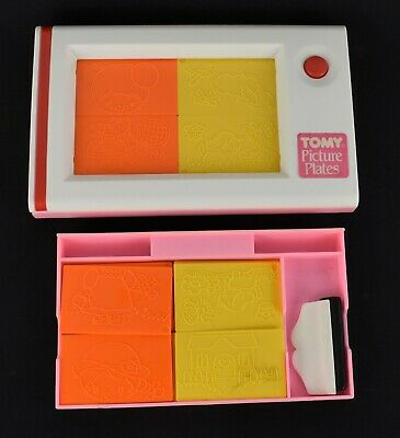 Vintage 1978 TOMY Picture Plates • 5£