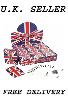 Playing Cards 100% Plastic Coated Washable 3 Different Types Free & Fast Post • 7.99£