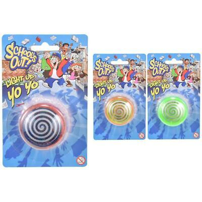 Light Up YoYo Trick Mechanism Speed Yo-Yo Assorted Tricks Yo Yo Kids Gift Toys • 3.29£
