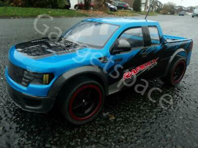 Rapidlx Monster Truck Rechargeable 4WD Drift Radio Remote Control Car 1/10 SPEED • 28.79£