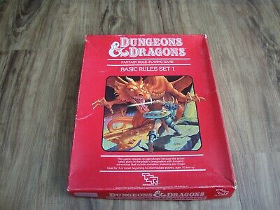 Dungeons & Dragons Basic Rules Set Set 1 - Incomplete  • 35£
