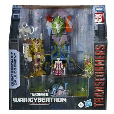SDCC Transformers Generations War For Cybertron Quintesson Pit Of Judgement • 149.99£