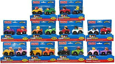 Fisher-Price Little People Wheelies 2-Pack Of Cars - Choose Your Favourites! • 7.99£