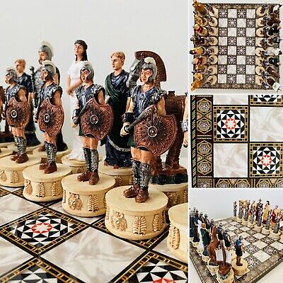 Troy Vs Sparta Chess Set • 189.99£