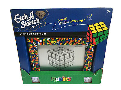 Etch A Sketch 60 Years Limited Edition Rubik's - New With Slightly Damaged Box • 40£