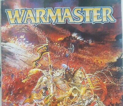 Games Workshop Warmaster Magazine Issues 9 And 11 Game Book GW 15mm  • 12.99£