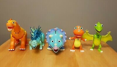 Dinosaur Train Tomy Interactive Toy Bundle X 5 Ned Morris Tank Buddy Tiny • 62.99£