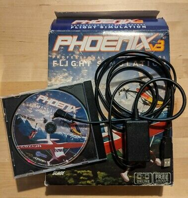 Phoenix RC Flight Simulator V3 With DVD And USB Cable • 26£