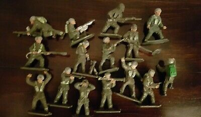 Lone Star Harvey Series 15 British Paratroopers  Grey Helmets  1960s Vintage.   • 12.99£