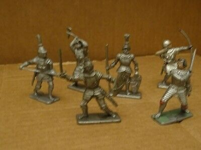 Crescent Knights.. Full Set Of 6 Figures. 1960s  • 7.35£
